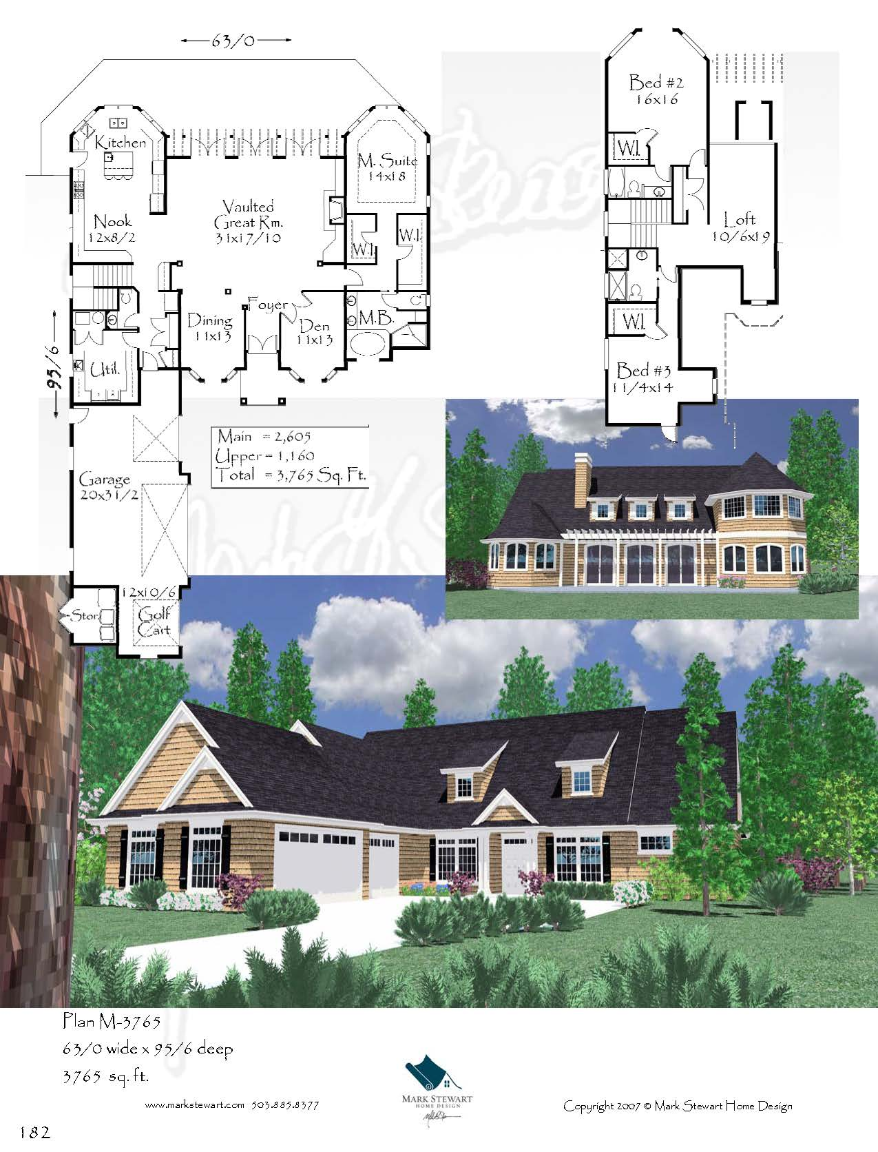 Groth manor house plan cape cod house plans country for Manor farm house plan