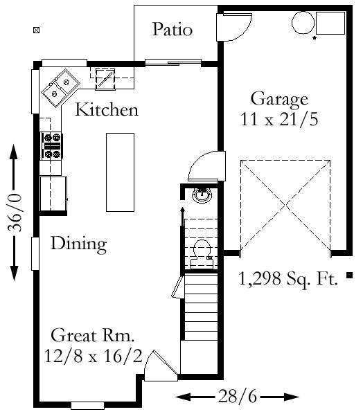 4500 Square Feet Tropical House On A Very Small Lot But: Country House Plans, Craftsman