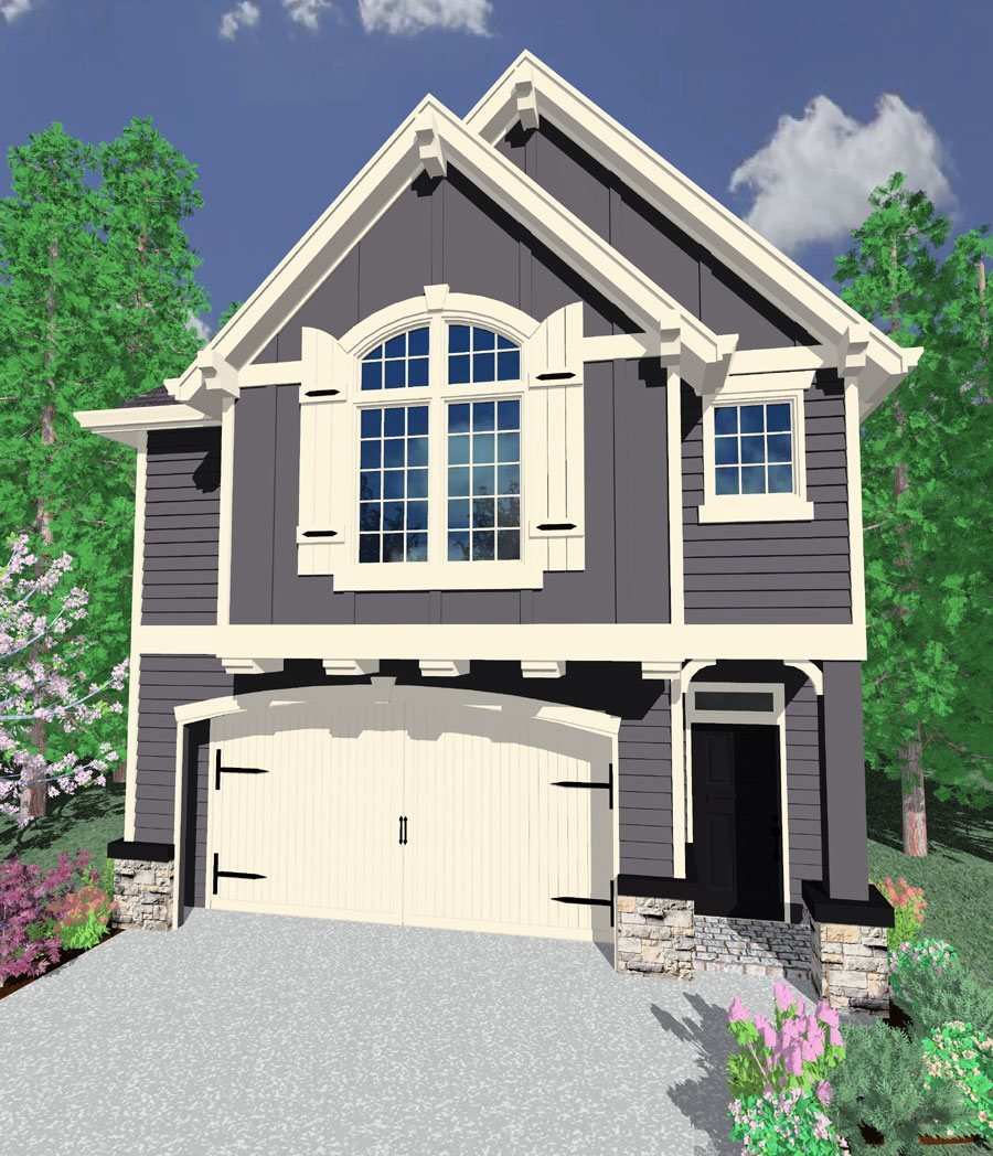 4500 Square Feet Tropical House On A Very Small Lot But: Maine House Plan