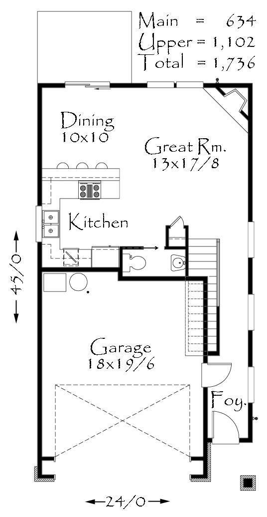 Maine house plan cottage house plans for Maine house plans