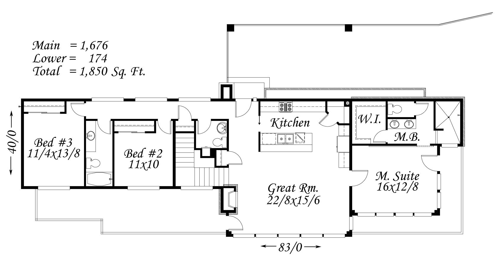 Casa moderna house plan designed to build lake oswego for Cost to build 2500 sq ft house