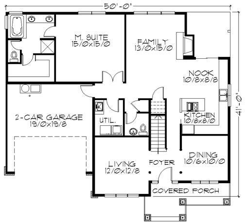 Top selling craftsman house plan with master on the main for Best selling craftsman house plans