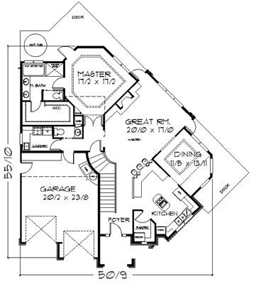 Pie Shaped Lot House Plans Get House Design Ideas