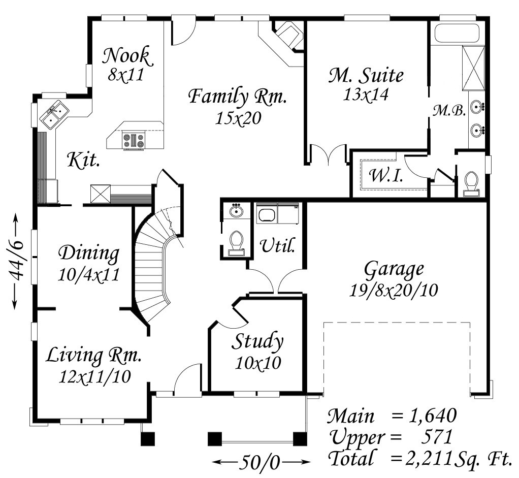 4500 Square Feet Tropical House On A Very Small Lot But: Bungalow House Plans, Cottage