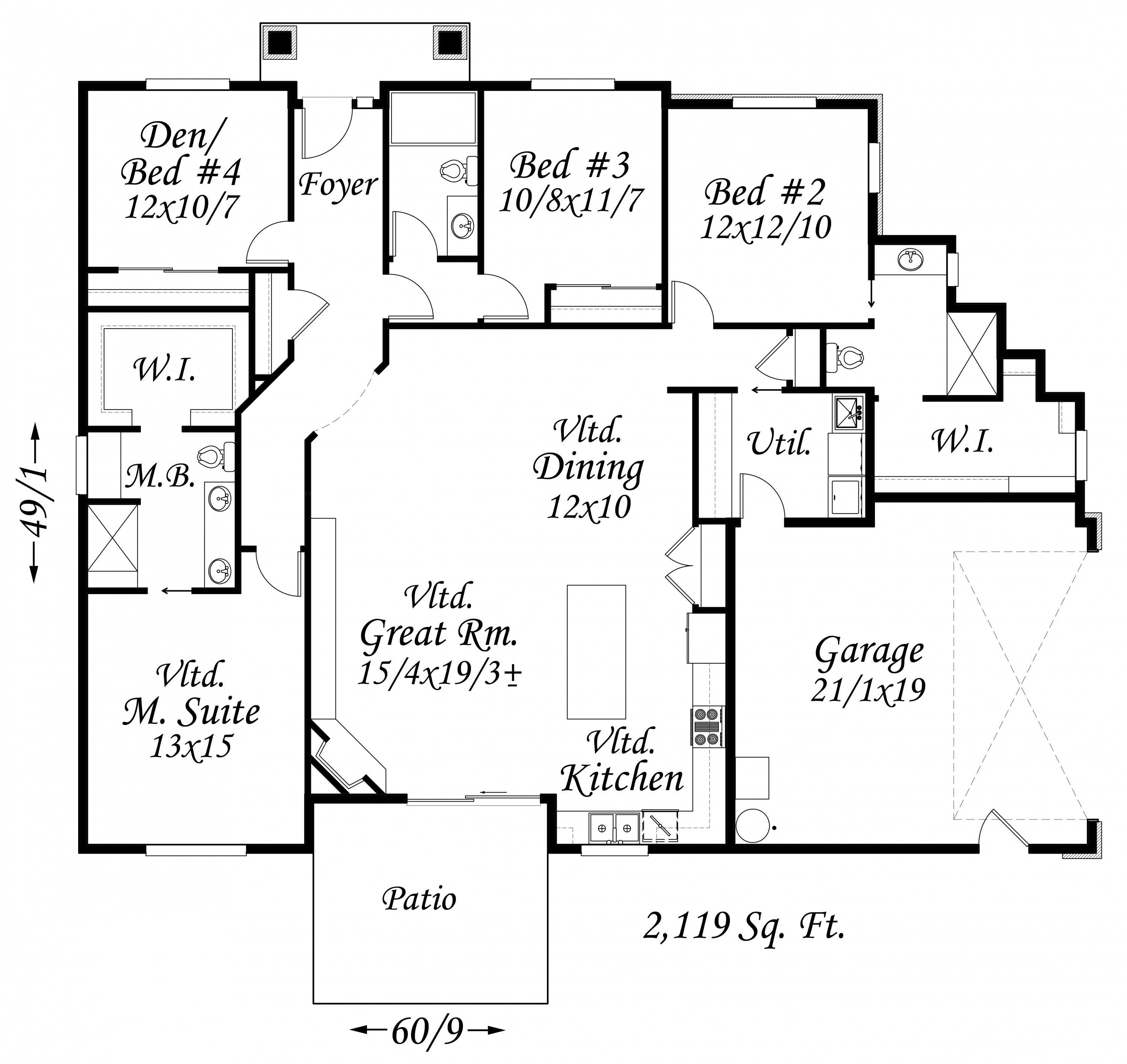 4500 Square Feet Tropical House On A Very Small Lot But: Transitional House Plans