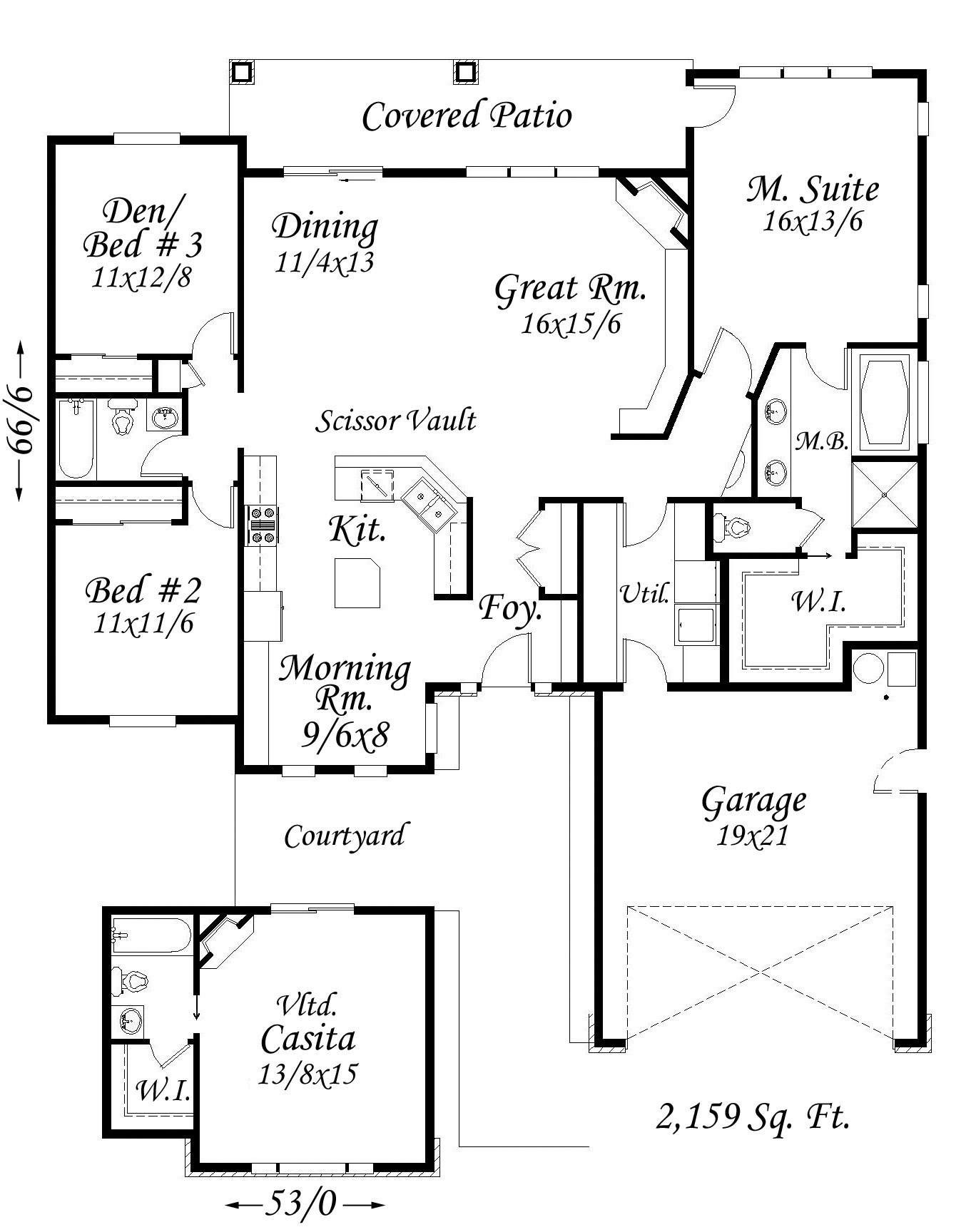 new life house plan
