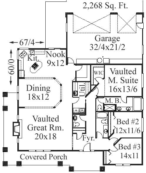 Detached Garage Plan By Mark Stewart Home Design: Bungalow House Plans, Craftsman House