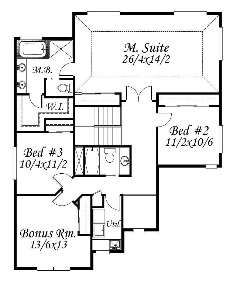 Complete Honor House Plan | Lodge House Plans
