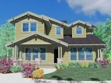 M-2478 Craftsman House Plan Front Elevation
