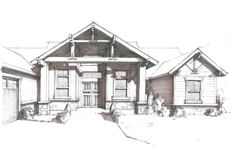M-2570B House Plan | Lodge House Plans