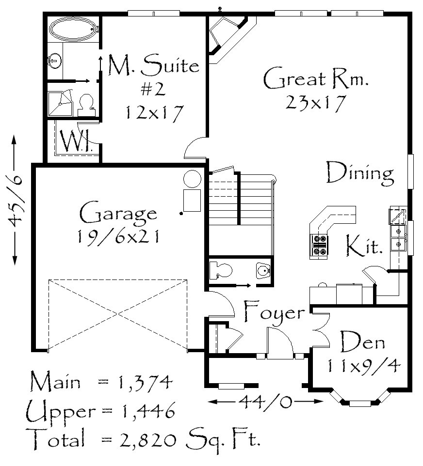 Craftsman House Plans, French Country