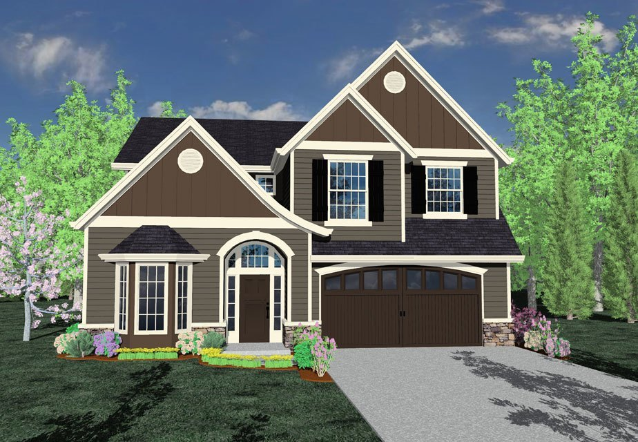 Edward 39 s place house plan old world european style house for Old world european house plans