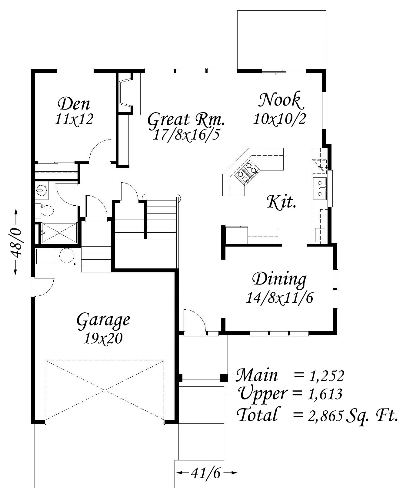 4500 Square Feet Tropical House On A Very Small Lot But: Blue Plains House Plan