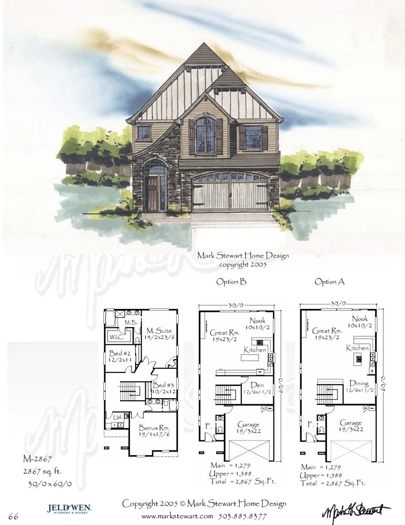 2867 House Plan Country House Plans French Country