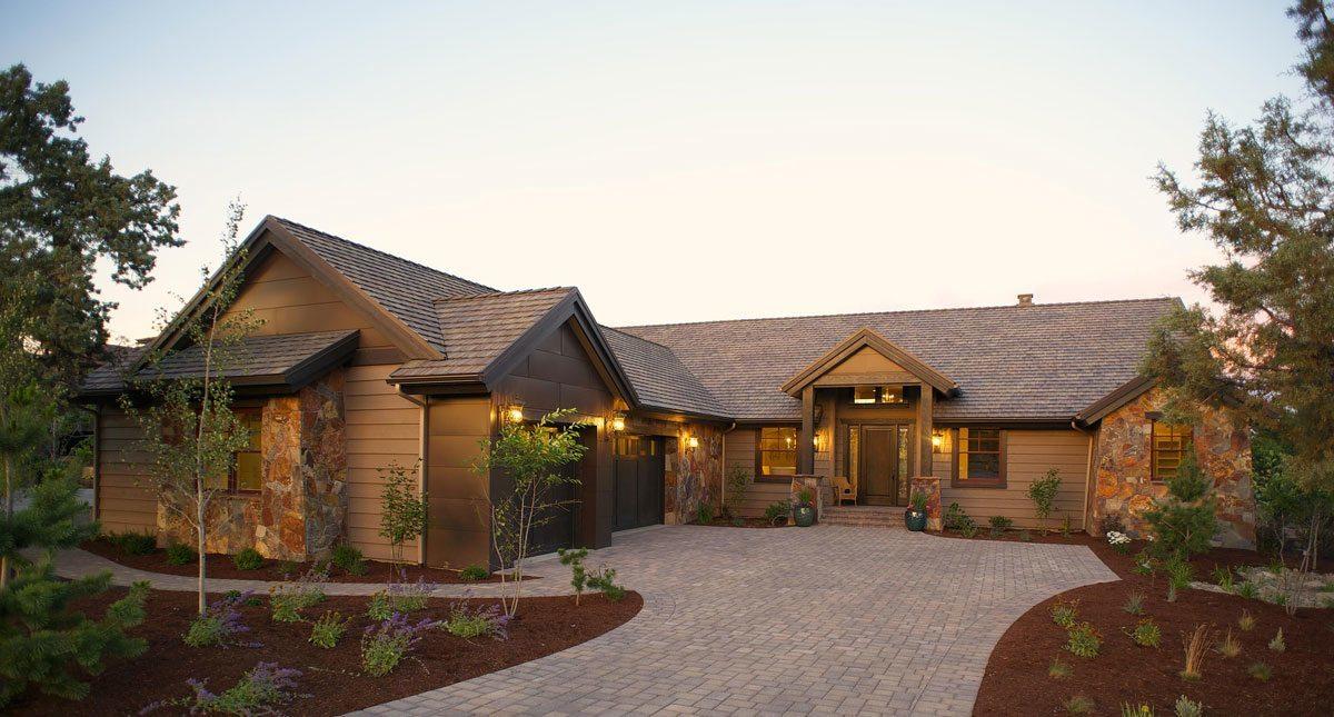 Desert Double R House Plan Craftsman House Plans