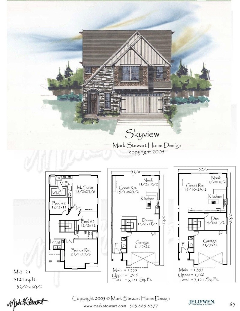 3121 House Plan Craftsman House Plans French Country