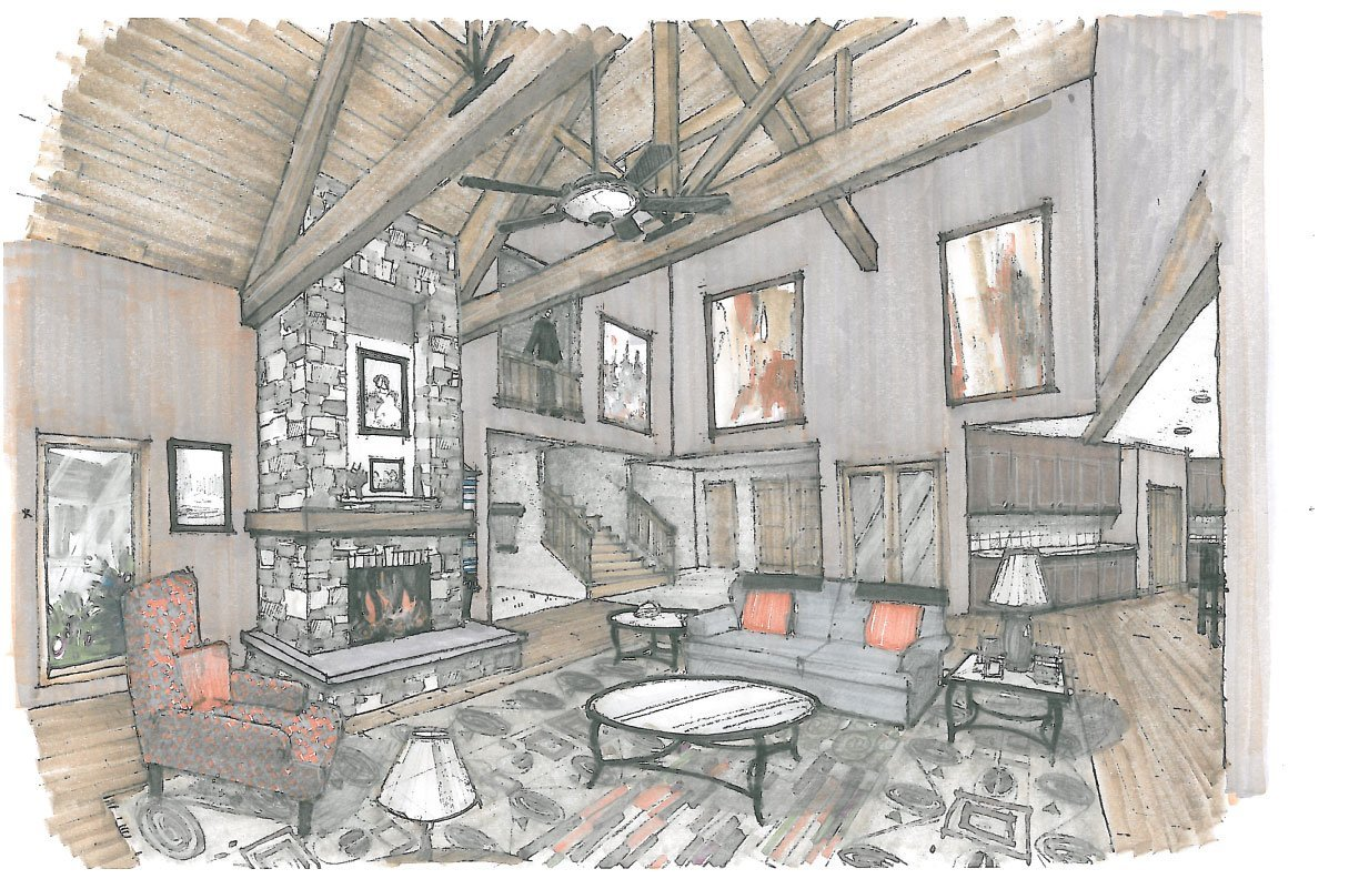 Mountain view house plan lodge house plans - Consider choosing great house plan ...