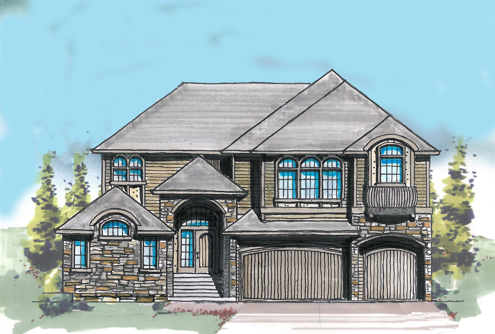 Chateau Rothschild House Plan Casita House Plans French