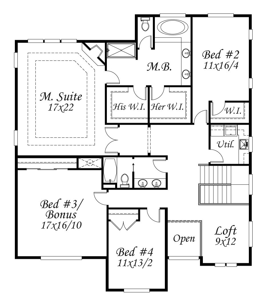 Edward 39 s high pointe house plan old world european style for Old world european house plans