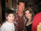 Ty Pennington with Chele and Sam