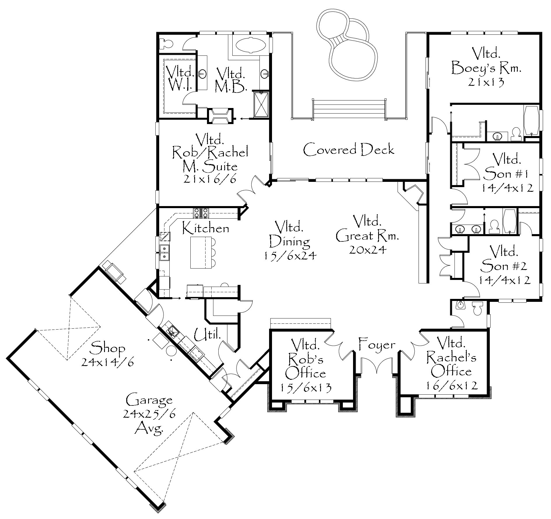 M 3985 house plan extreme house plans for Extreme house plans