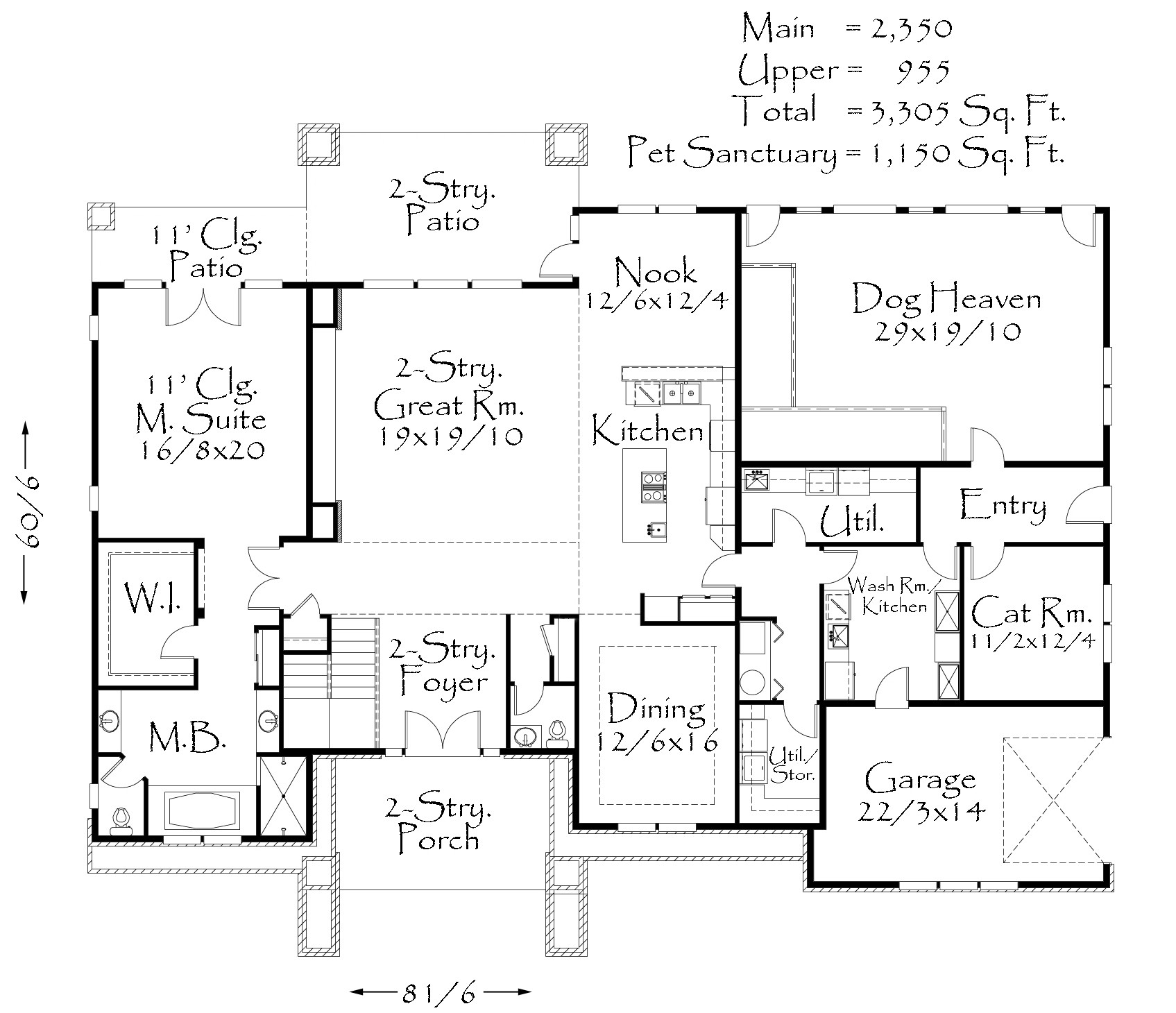 4455 extreme house plan contemporary house plans Extreme house plans
