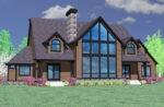 House Plan Rear