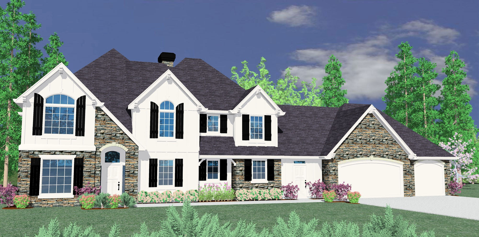M 4853 house plan old world european style house plans for Old world european house plans