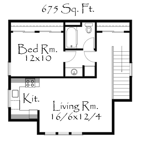 Detached Garage Plan By Mark Stewart Home Design: Built In: City Of Portland