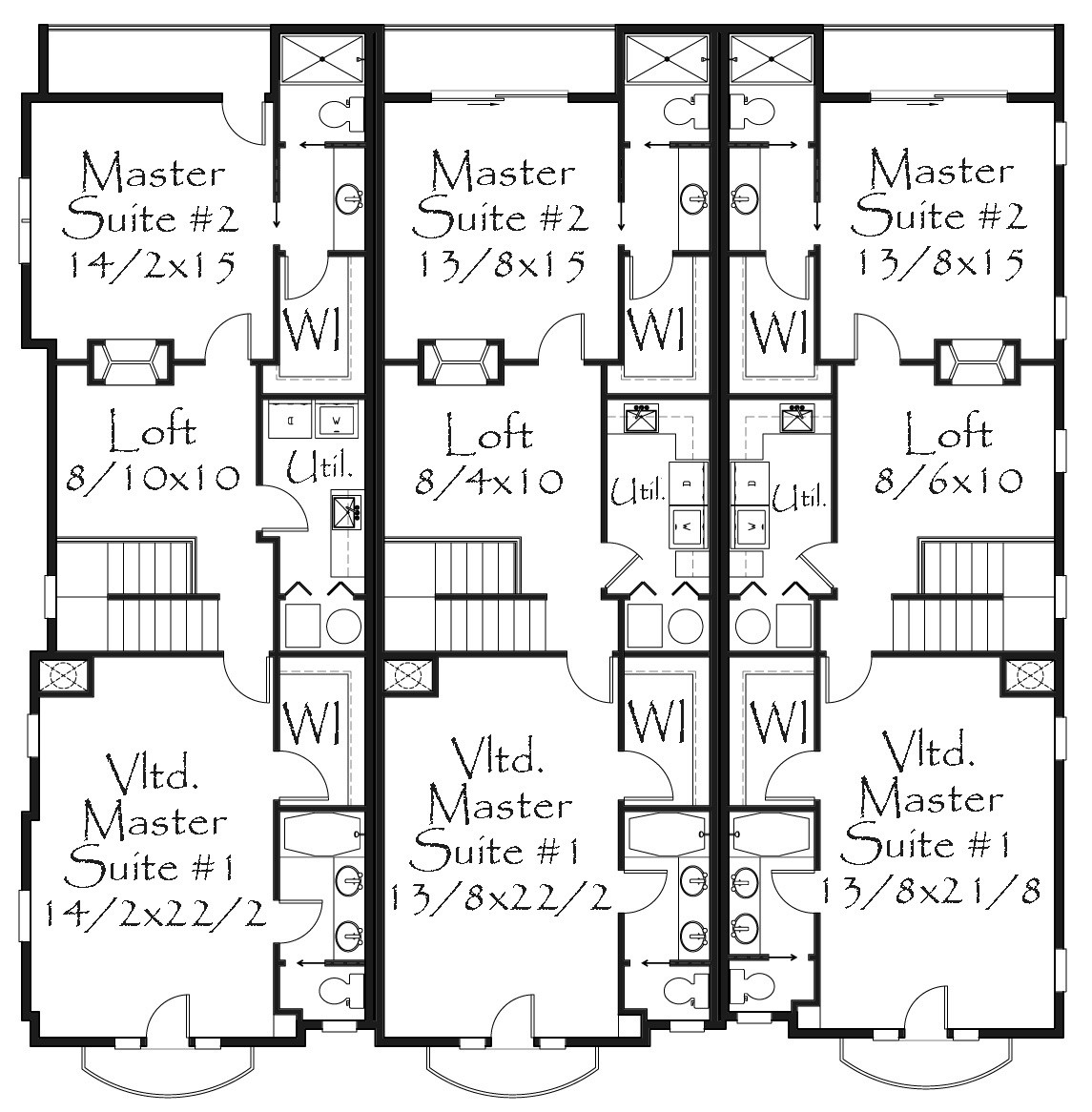 4500 Square Feet Tropical House On A Very Small Lot But: Old World European Style House Plans