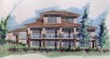 Rear View House Plan