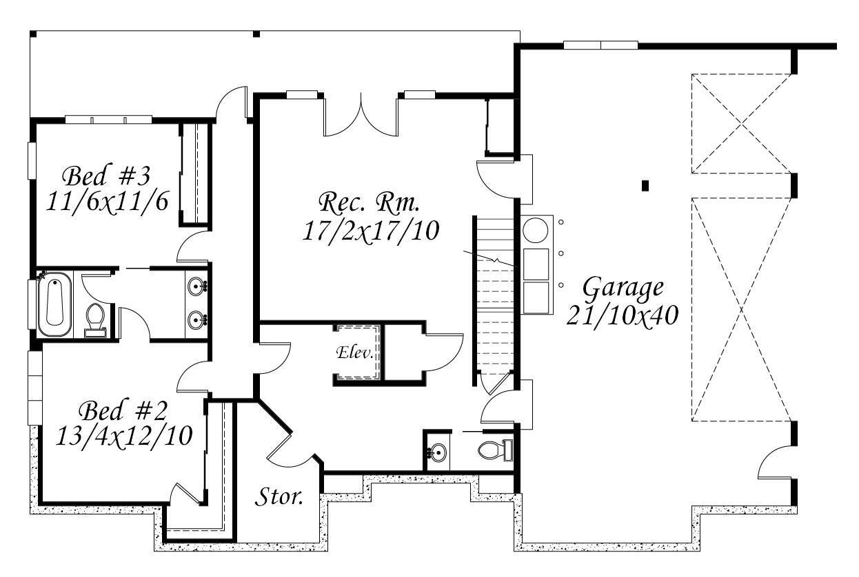 Msap 3959 House Plan Exotic Contemporary House Plan