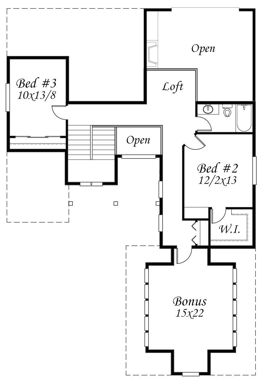 M A Upper Floor