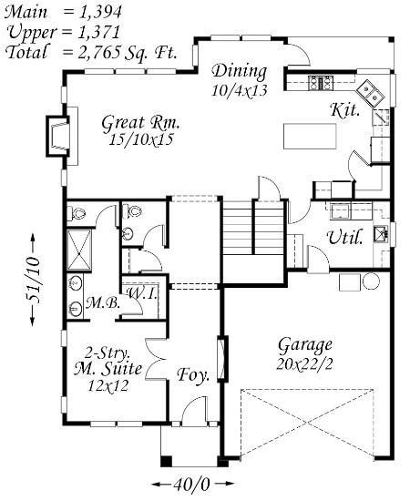 4500 Square Feet Tropical House On A Very Small Lot But: Generous Family House Plan