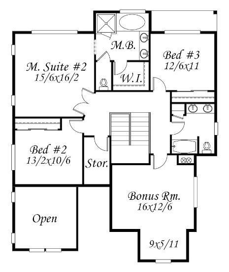 Generous Family House Plan
