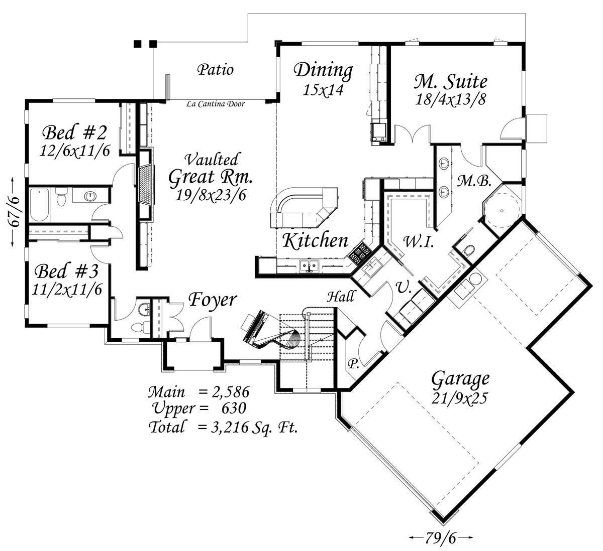 Lion\'s Gate House Plan | Wine Country House Plans