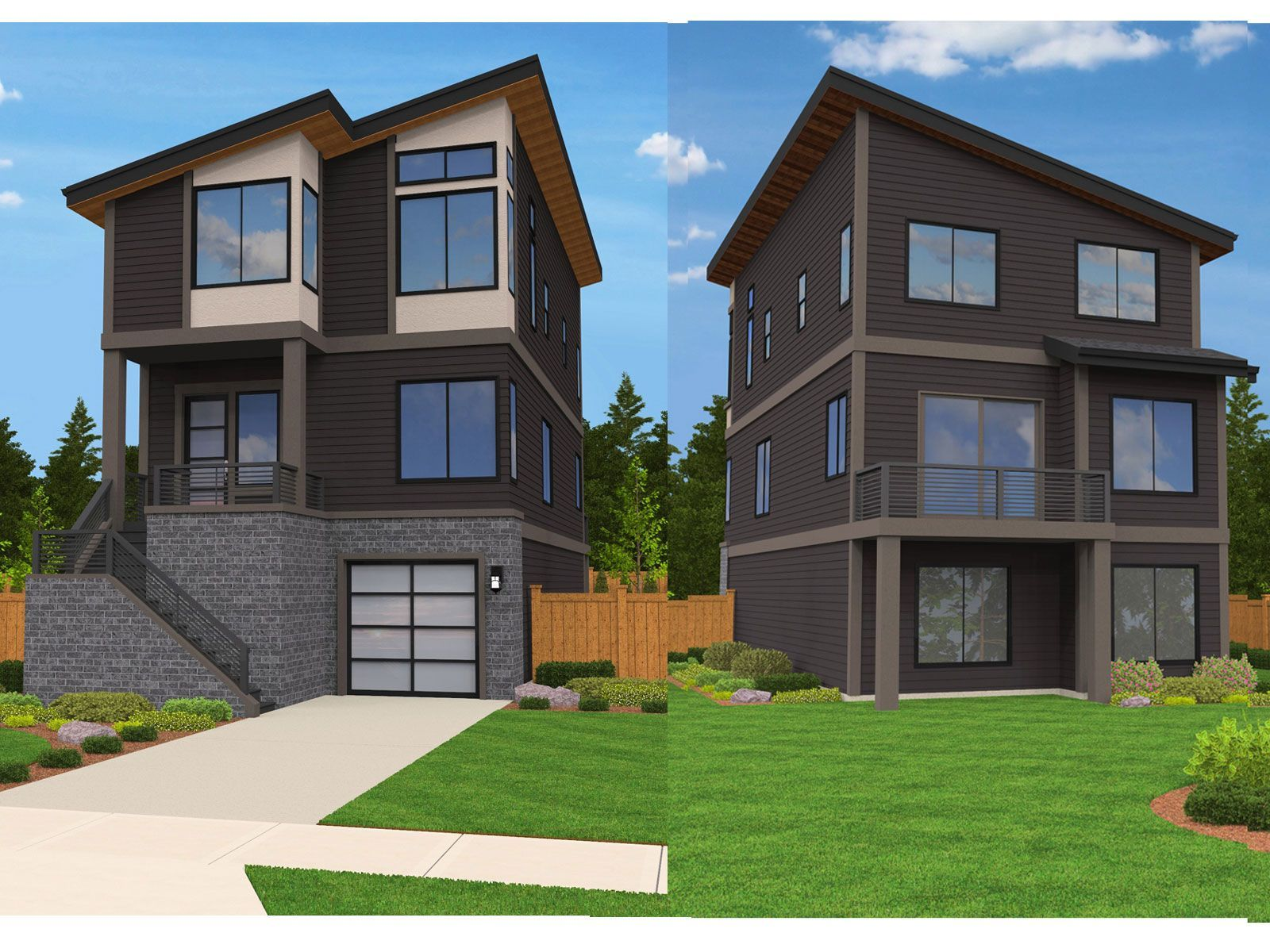 Madison house plan built in city of portland for Madison home design