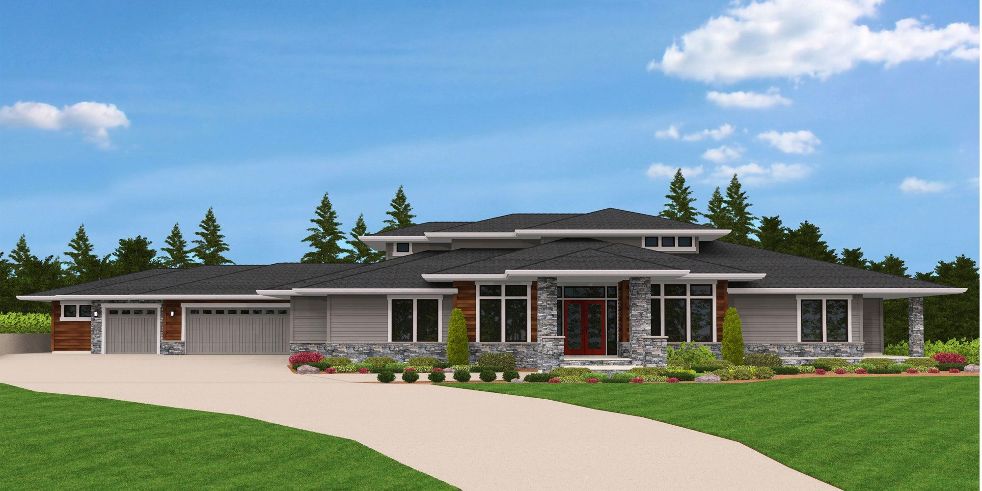 Stafford View Modern Home Plans u0026 Unique