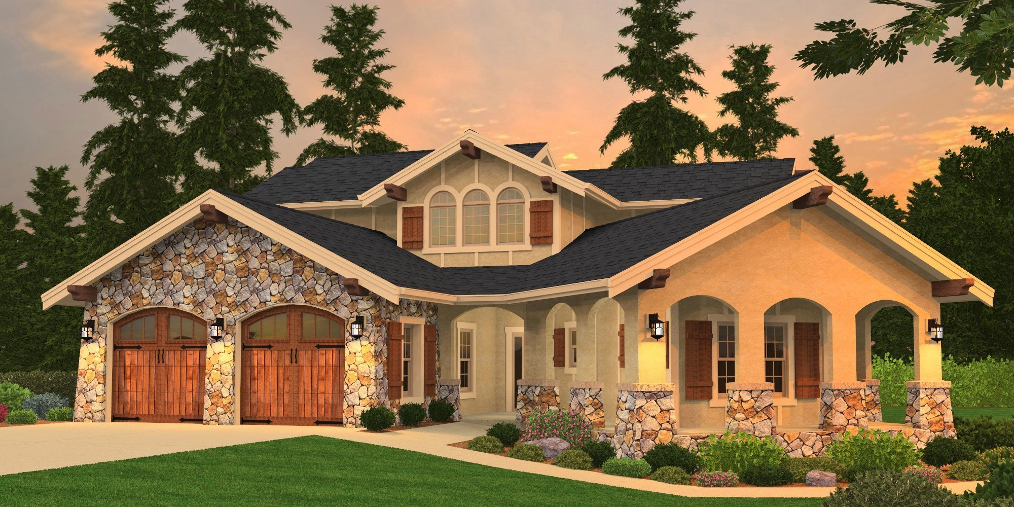 Modern House Plans Timeless Custom Home Designs with Photos
