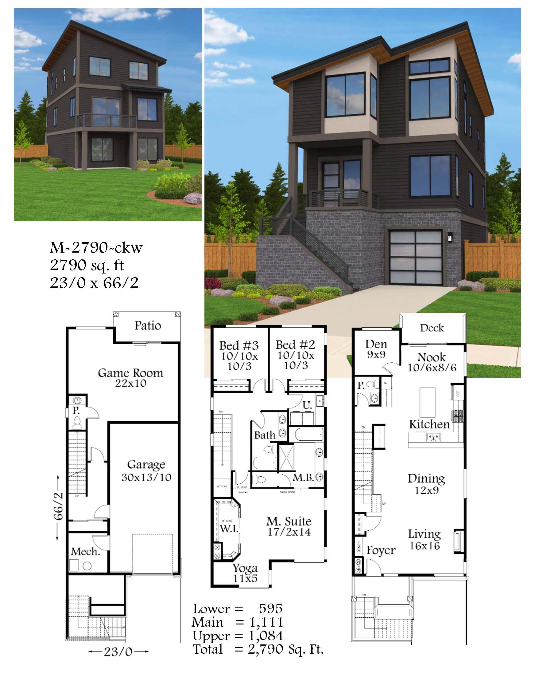 Madison house plan built in city of portland for Madison house plan
