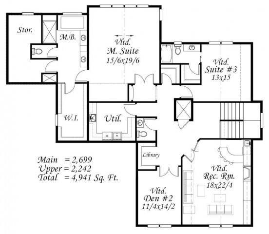 Mark Stewart Home Design: Mark Stewart Master Plan - Moneyhan Lake