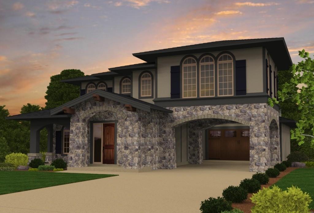 Modern Tuscan House Plans | Custom Tuscan Home Designs with Photos