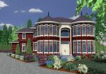 M-4777MG House Plan FRONT