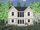_3D Rendering MM-892 House Plan publish