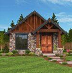 M-640 Lodge House Plan