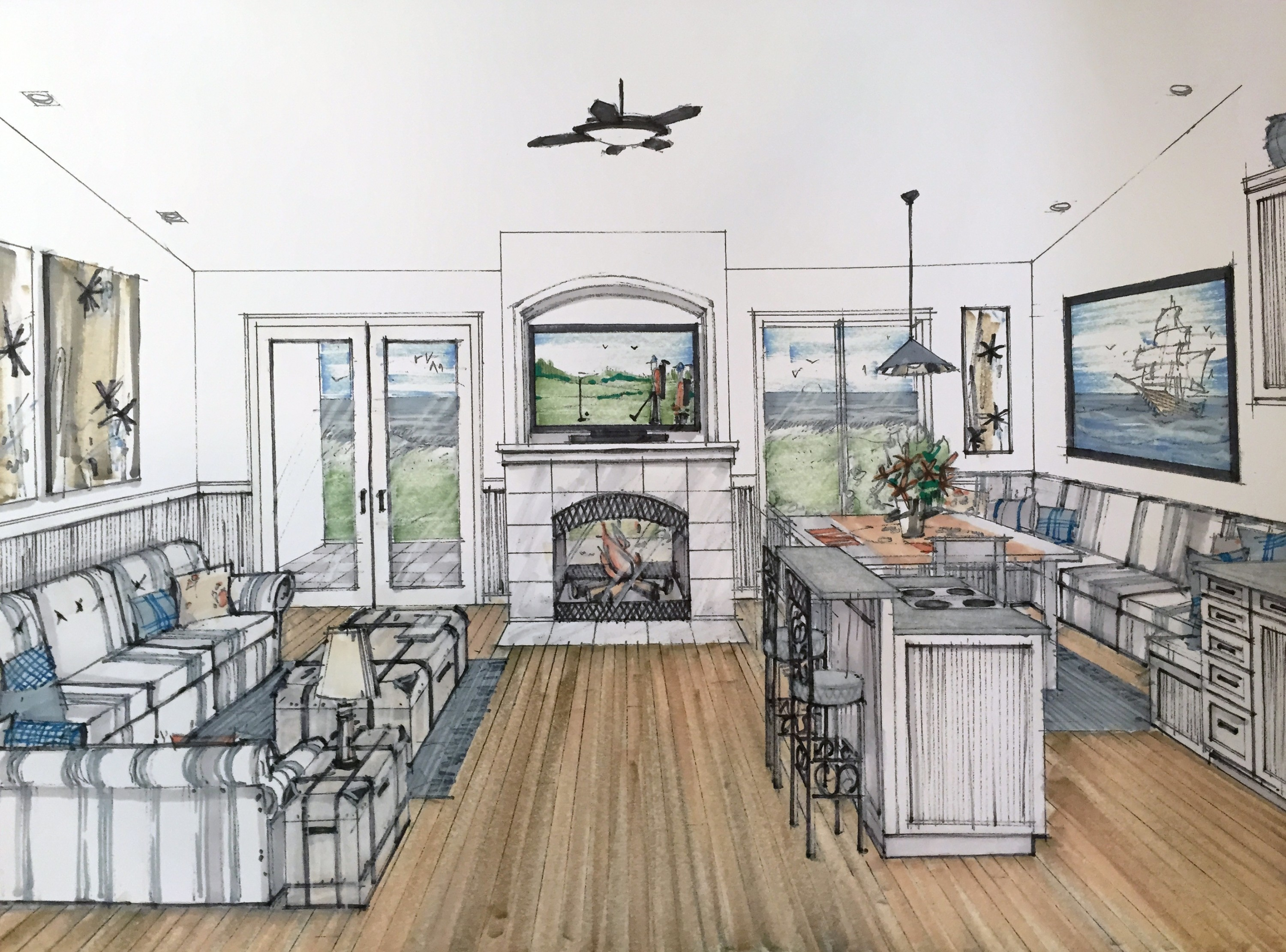 Trinidad lodge house plan from mark stewart home design for Trinidad house plans
