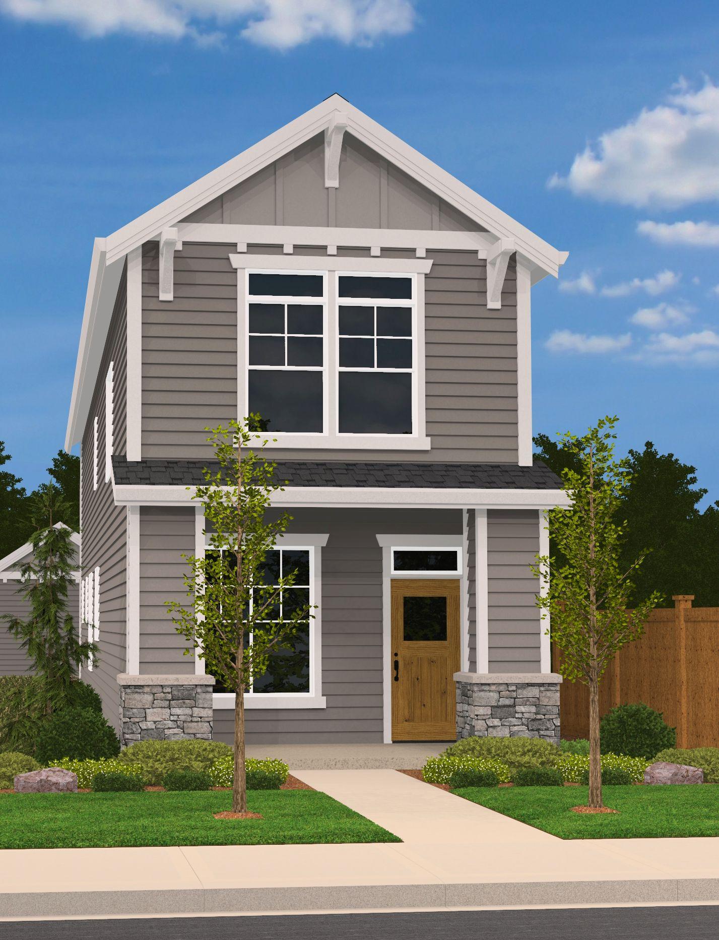 Innskeep House Plan Built In City Of Portland