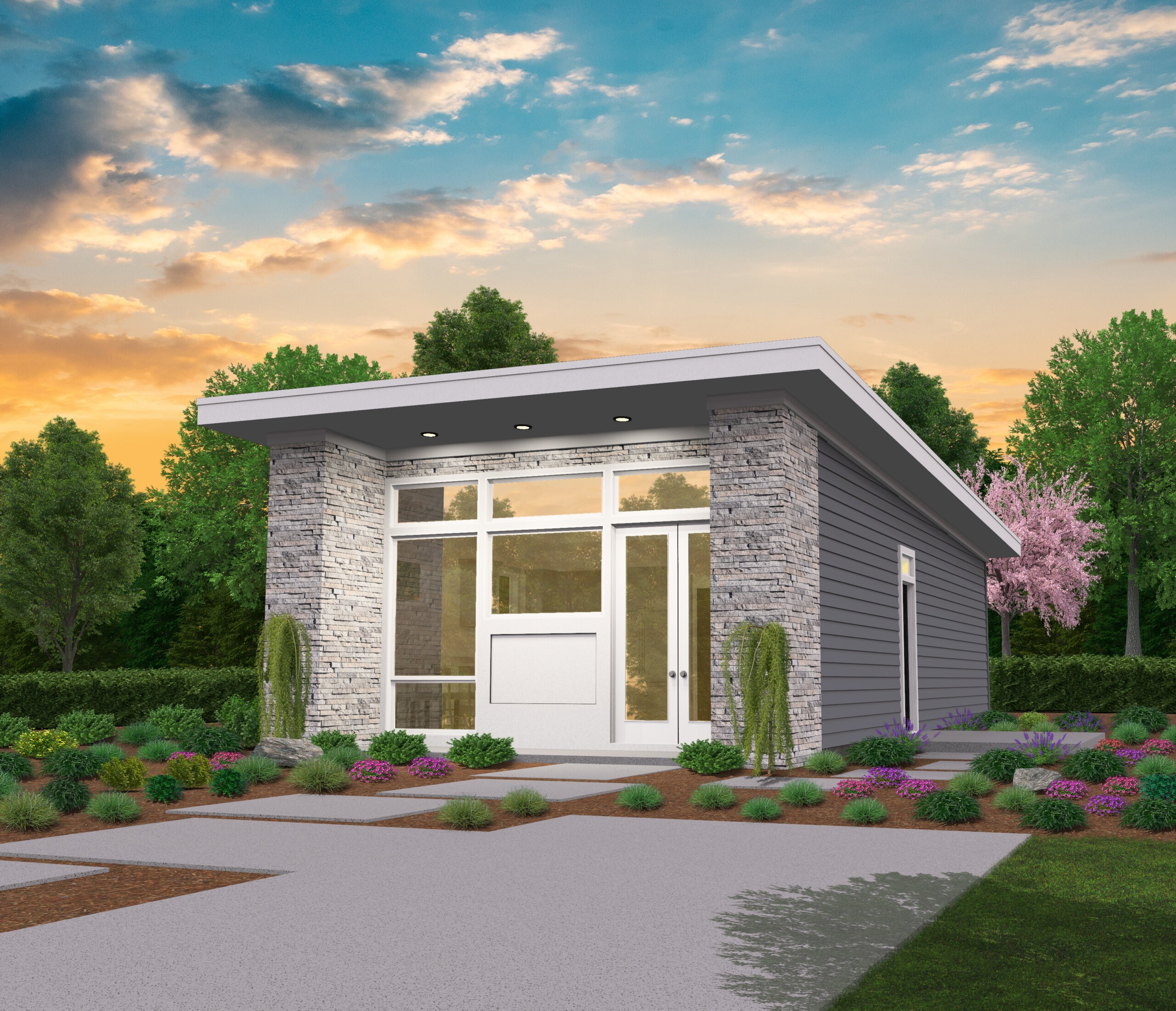 Soma Modern House Plan | modern small house plans with ...
