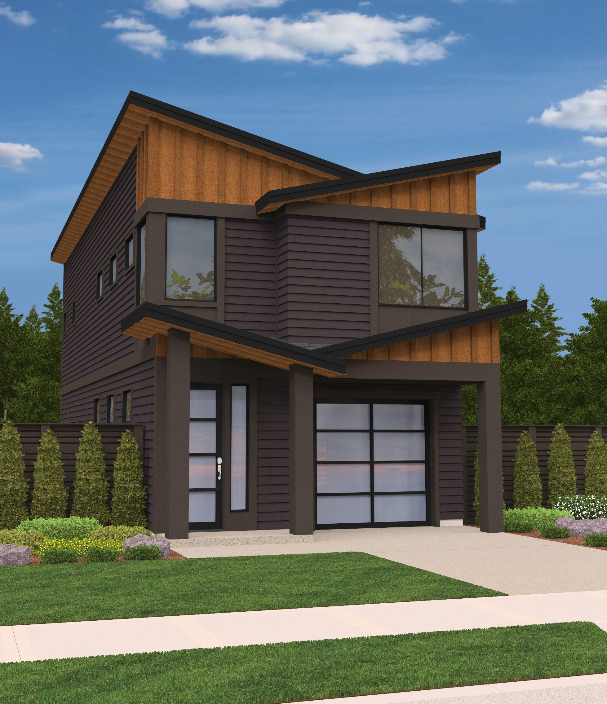 Pebblestone House Plan | Contemporary House Plans, Modern ...