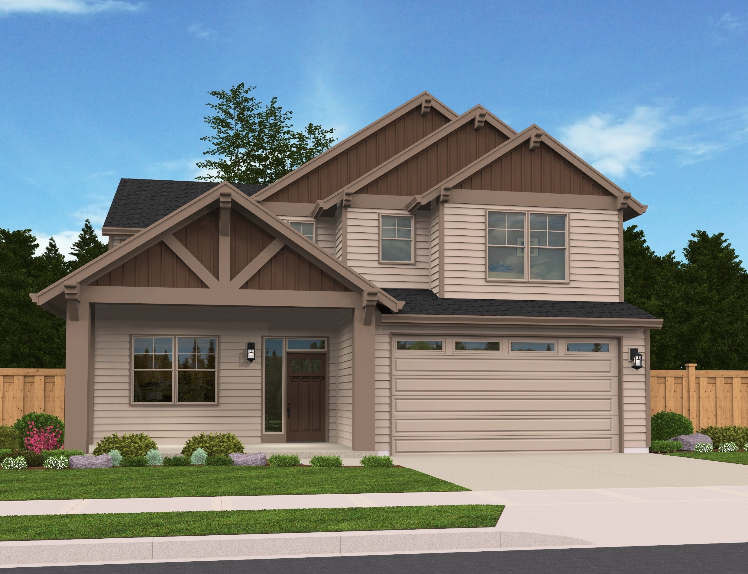 Open Beam House Plan Bungalow House Plans Cottage House